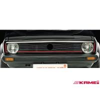 Kamei Front Upper Grill Spoiler for Volkswagen MK1 Rabbit - 44047
