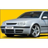 GS-00009 - Dietrich 3723VA Front Bumper Golf MK4 S4 Style