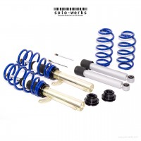 S1VW008 - Solo Werks S1 Coilover System - VW MK6 Jetta S (only) 2011- 2013 w Torsion Beam Suspension